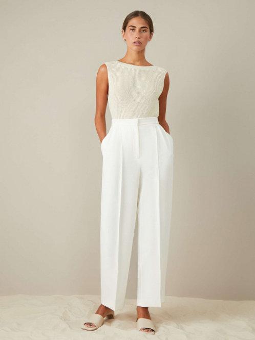 12STOREEZ Молочные / белые брюки