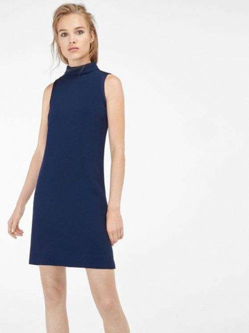 Massimo Dutti платье мини (синий)