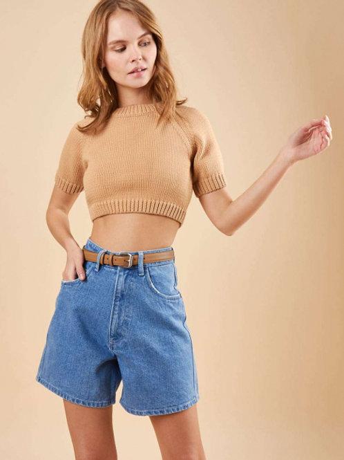 12Storeez Шорты джинсовые