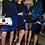Thumbnail: НОВОЕ синее платье из органзы
