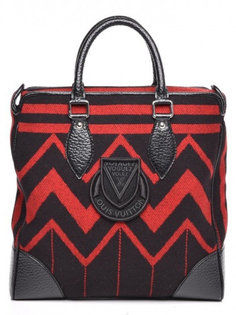 Сумка  Louis Vuitton Tote Vail Blanket Cabas Red/Black
