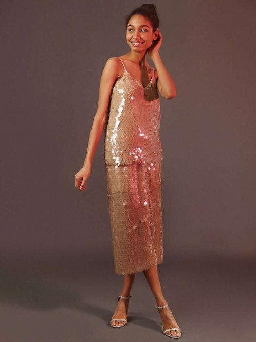 Платье с блестками(пайетками)