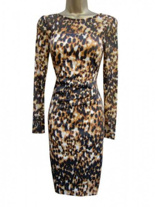 Karen Millen платье леопардовое