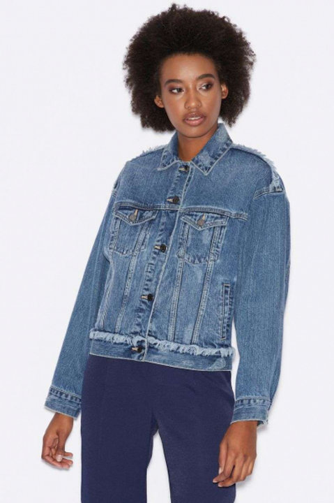 Armani Exchange куртка джинсовая