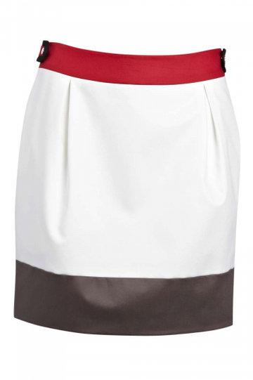 Karen Millen юбка с красной полоской сверху