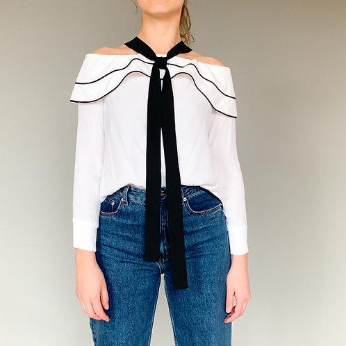 Блуза с открытыми плечами SPACE