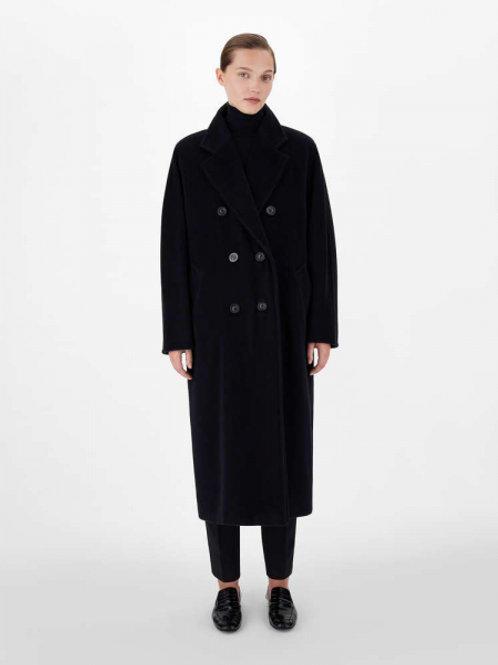 MaxMara культовое пальто (черный)