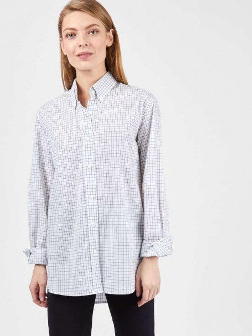 12STOREEZ рубашка в клетку (Белый)