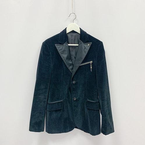 Мужской бархатный пиджак