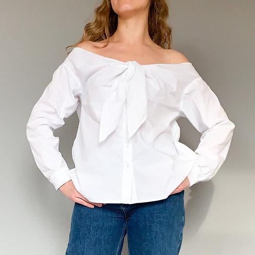 Блузка с отрытыми плечами H&M