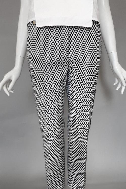 Черно-белые брюки Pinko