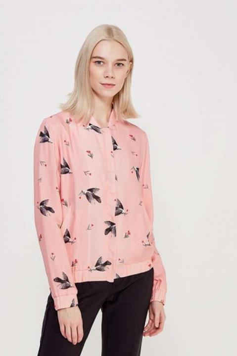 Akhmadullina Dreams куртка ветровка с узорами (розовый)