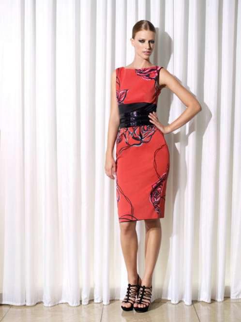 Karen Millen платье с вырезом на спине (красное)