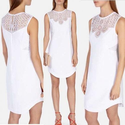 Karen Millen платье с кружево (Белый)