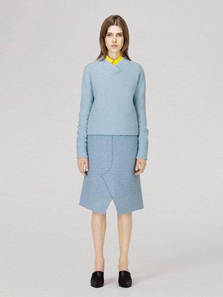 Голубая юбка COS