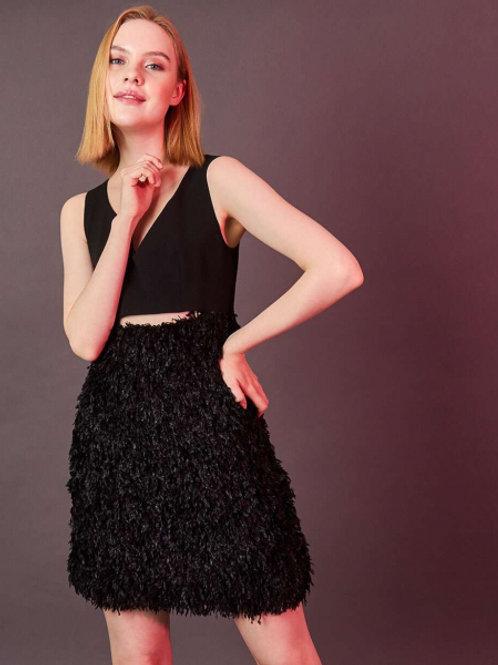 12STOREEZ Платье (Черный)