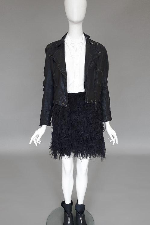 Кожаная куртка косуха Zara Woman