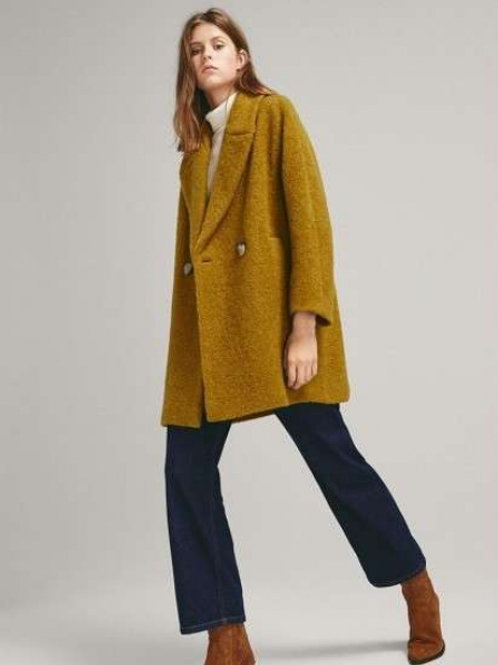 Massimo Dutti пальто шерстяное