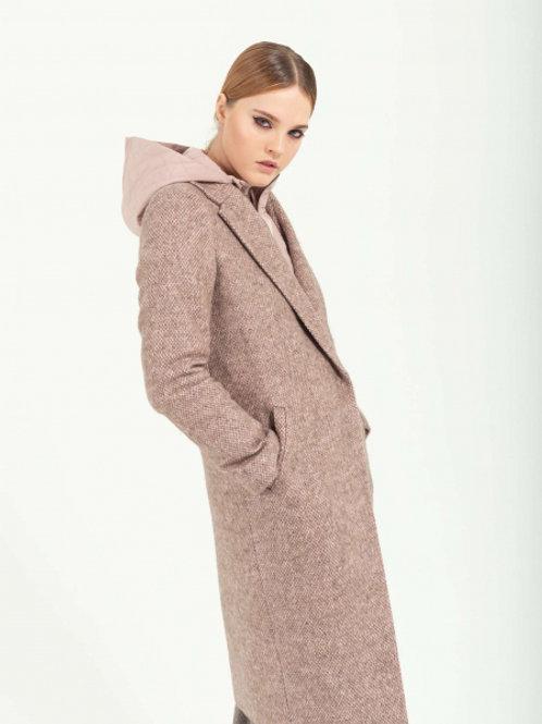 N.O.M.I Пальто DAILY NICE Rose