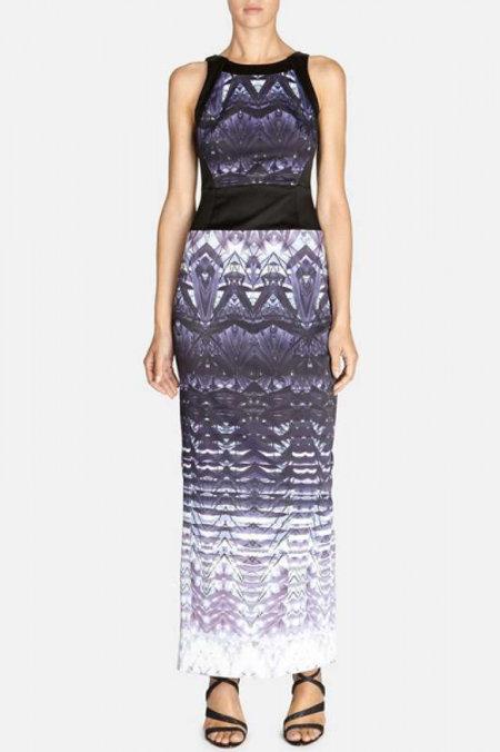 Karen Millen платье миди (фиолетовый)