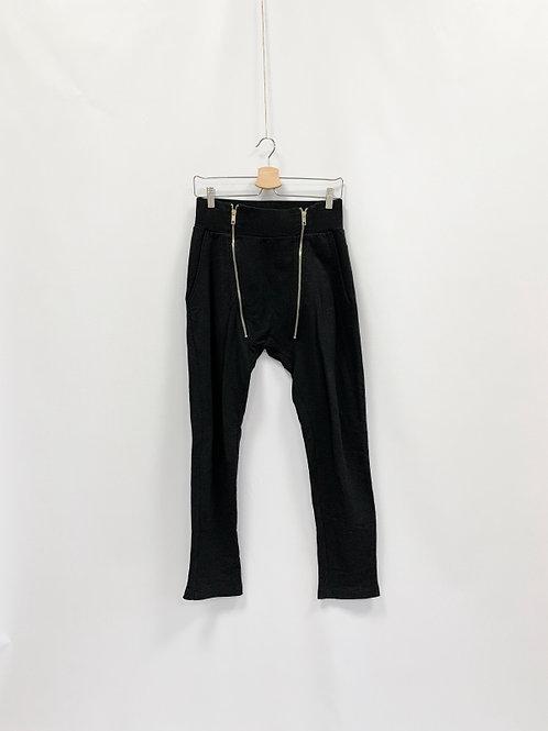 Трикотажные брюки с молниями