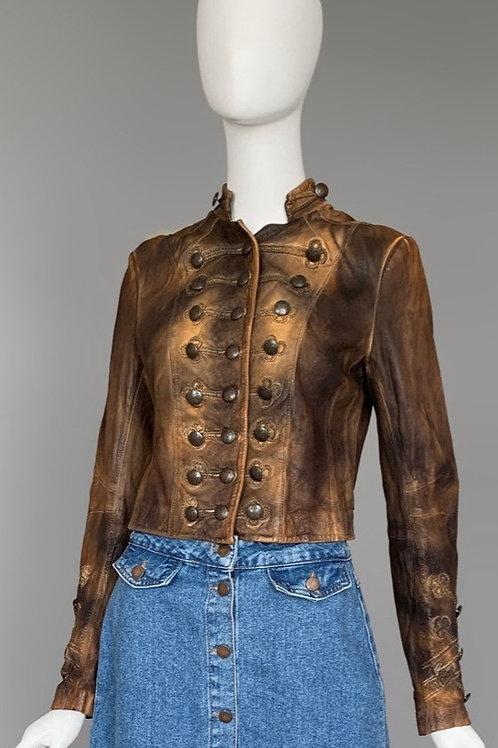 Кожаная куртка Allsaints