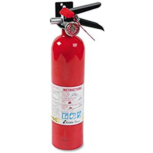"Kidde Fire Extinguisher ""Tri-Class"" PRO Line Rechargeable"