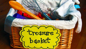 Our Parent's Guide to Treasure Baskets & Heuristic Play