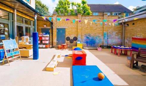 Main ourdoor play area