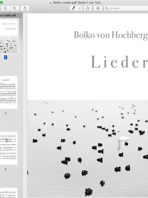 Bolko von Hochberg I song anthology (digital)
