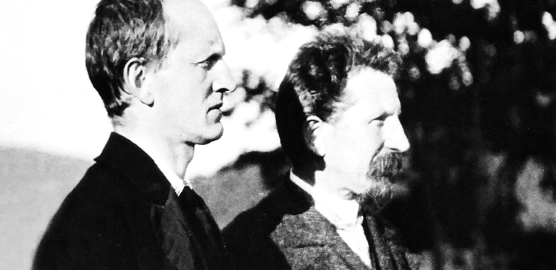 Gerhart und Carl Hauptmann