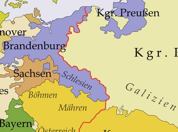 Europe um 1748-1766