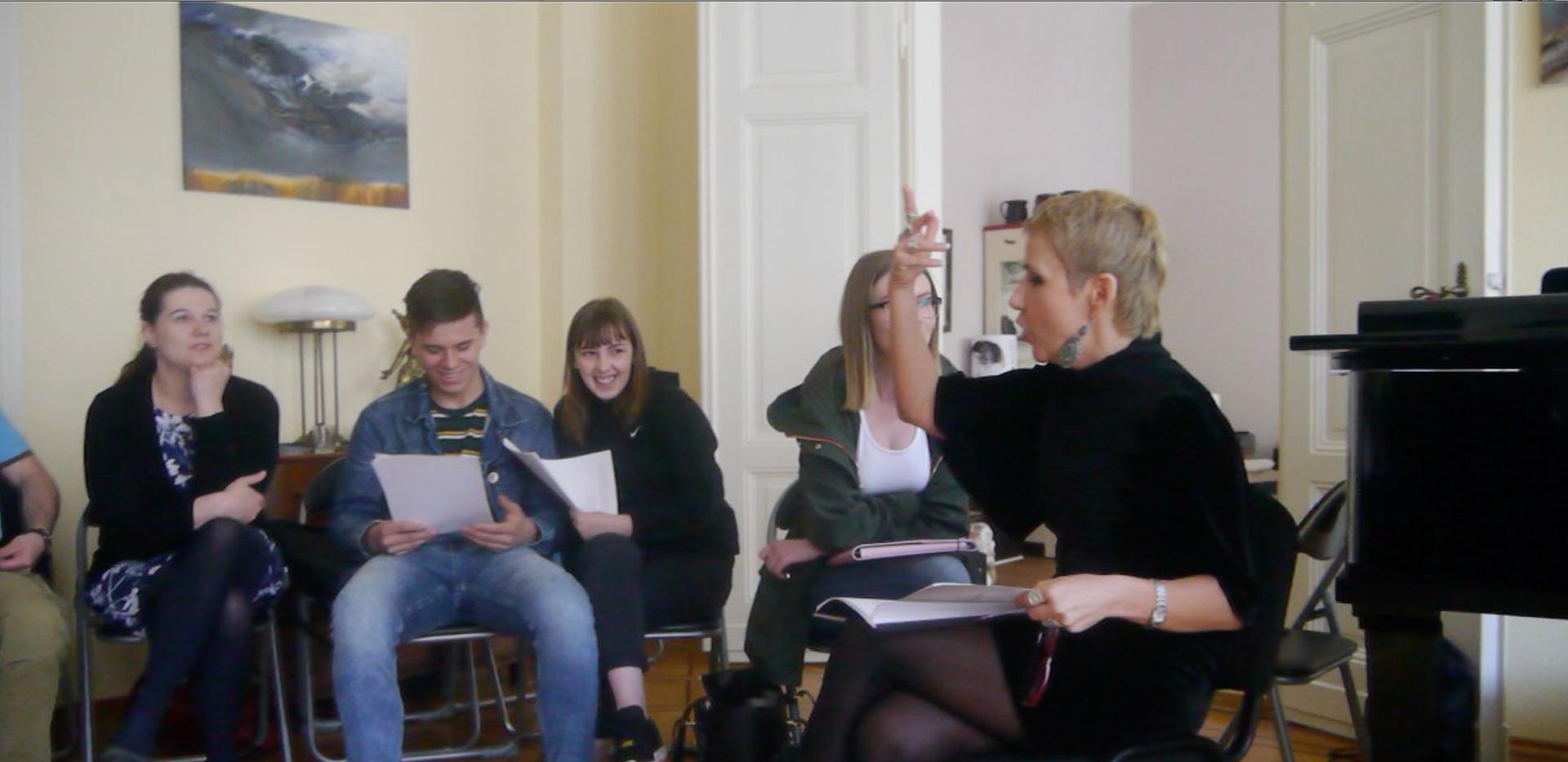 Workshop mit Beata Zygmuntowicz