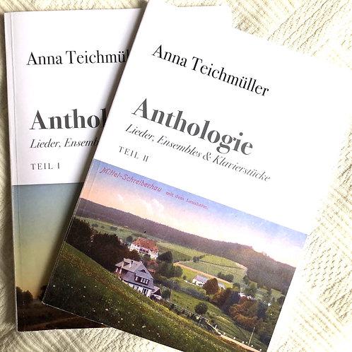 Anna Teichmüller / Anthologie. Band 1