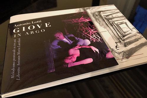 """Antonio Lotti """"Giove in Argo"""" I Broschüre und CD"""