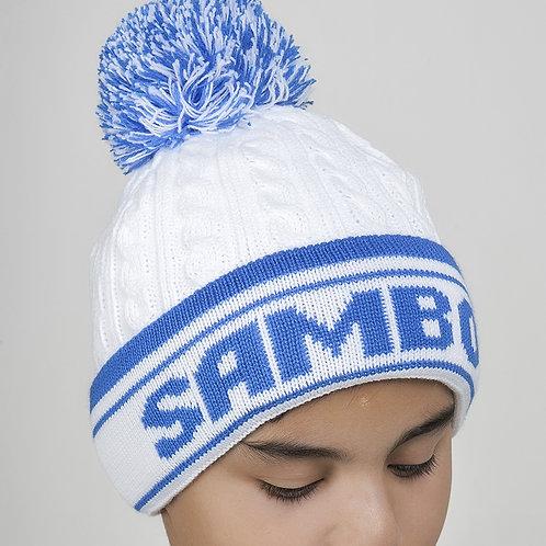 """Шапка """"Sambo"""" Белая"""