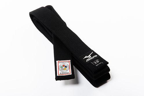"""Черный пояс """"Mizuno"""" IJF"""