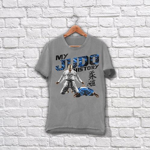 "Футболка ""My Judo History"""
