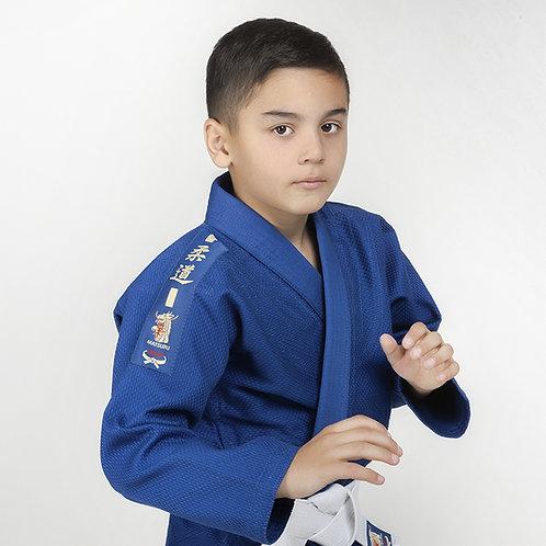 Детское кимоно для дзюдо Matsuru Club Синее