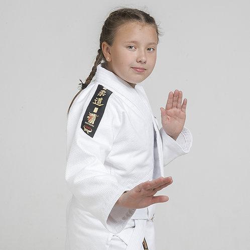 Детское кимоно для дзюдо Matsuru Club Белое