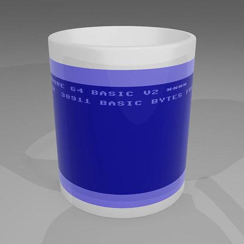 Commodore 64 Boot Screen Mug