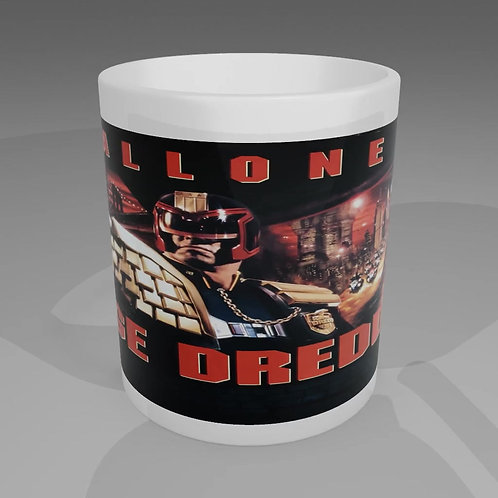 Judge Dredd Movie Poster Mug