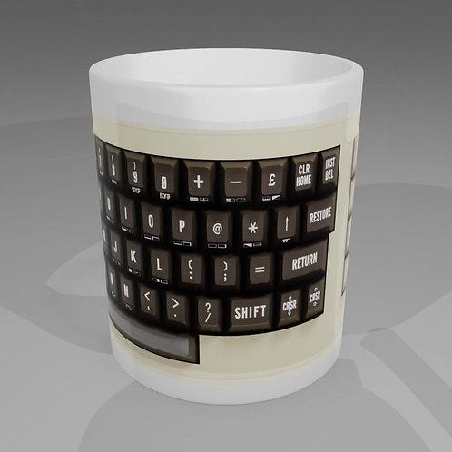 Commodore 64 Keyboard Mug