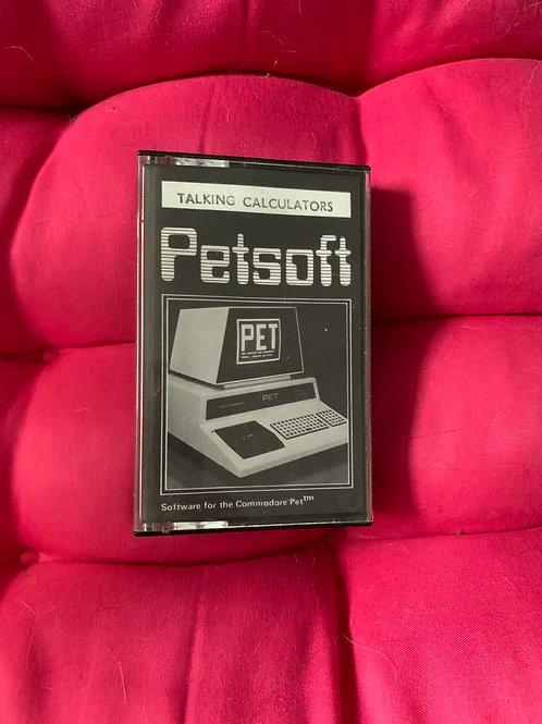 Commodore pet pet soft talking calculators
