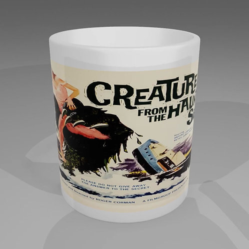 Creature From The Haunted Sea Movie Poster Mug