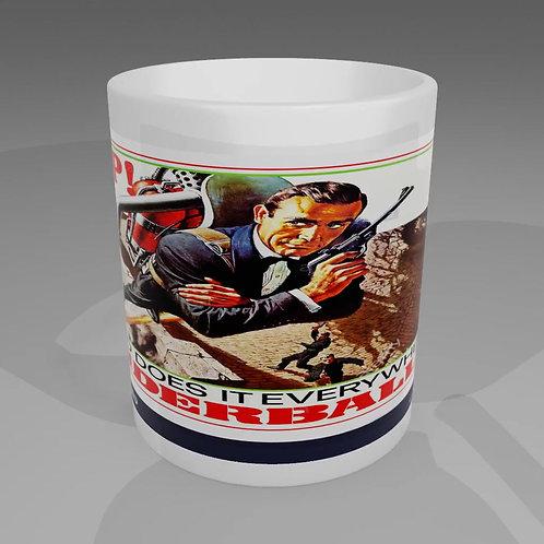 James Bond Thunderball Movie Poster Mug