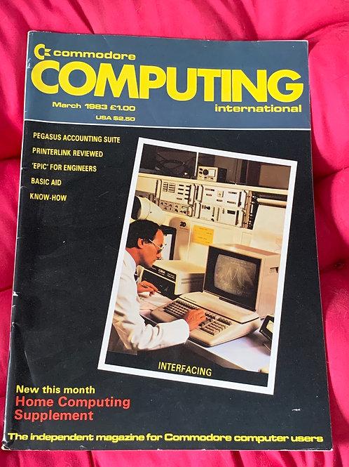Commodore computing March 1983