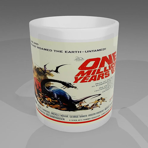 One Million Years BC Movie Poster Mug