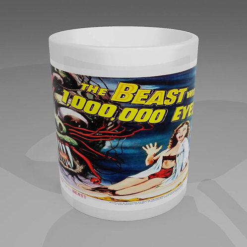 The Beast With 1000000 Eyes Movie Poster Mug