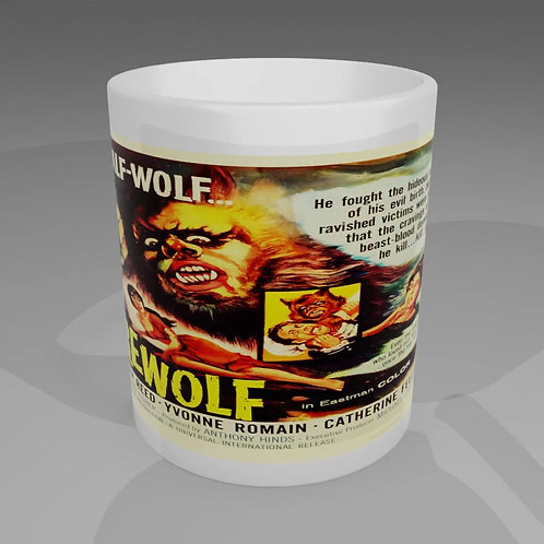 The Curse Of The Werewolf Movie Poster Mug